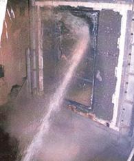 船舶A級防火窓 標準火災試験